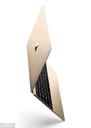 Apple reveals its lightest ever MacBook #dailymail