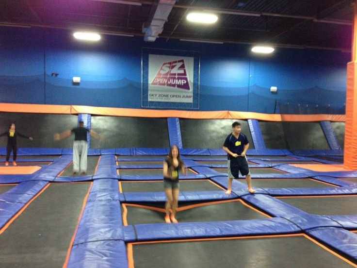 Trampoline park and Dodgeball!!  Great for birthday parties!