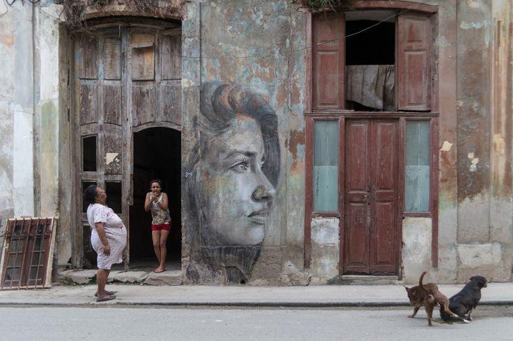 Amanda from Romerillo, Havana, by Rone, 2015