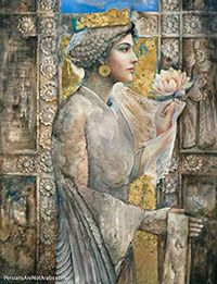 """Princess Roxana was daughter of King Darius III, Shahanshah of The Persian Empire!    The name """"Roxana"""" means: """"The dawn and luminous beauty."""" (in both Persian and Bactrian)."""