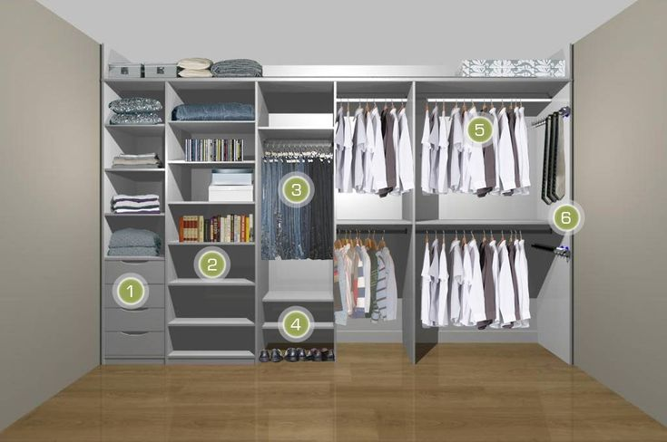 mens fitted wardrobe white 1