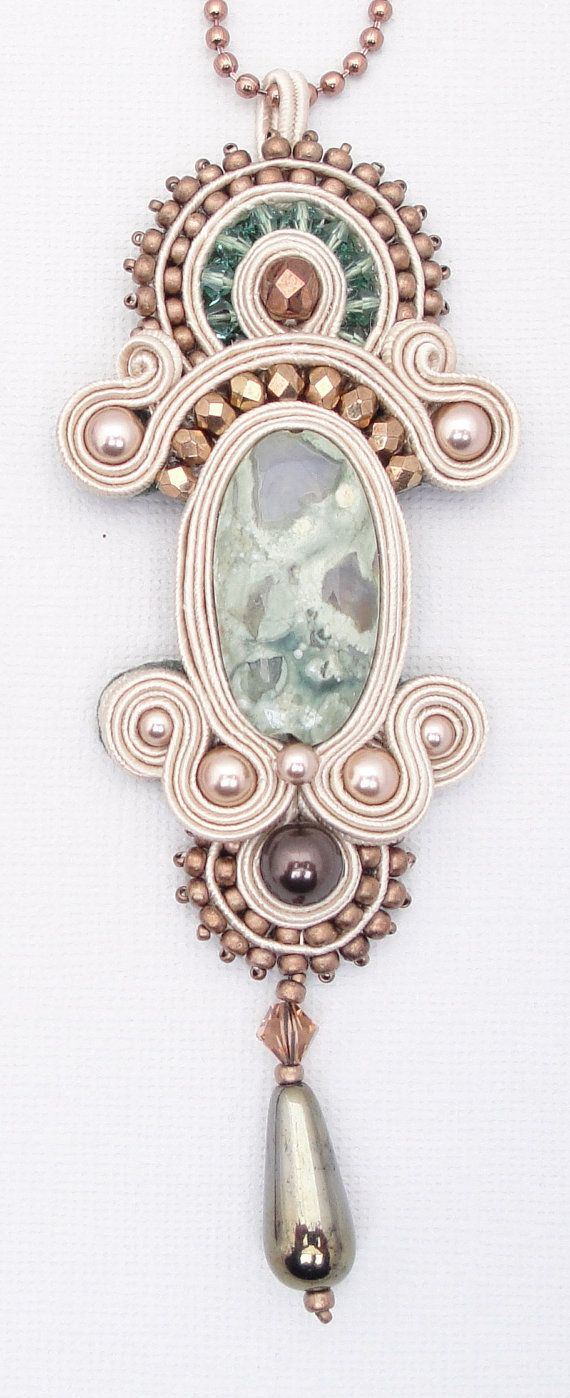 INSTANT DOWNLOAD Tutorial Soutache Embroidery Lady by jodihorgan