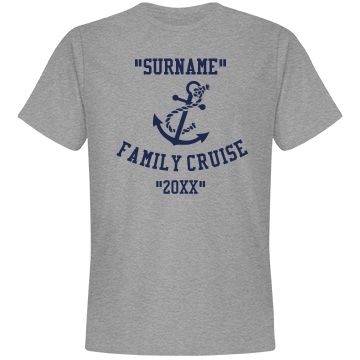 Family cruise | Custom tee shirt for the family cruise.