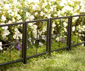Garden edgers are a great way to add definition to your front walk! More detailing ideas: http://www.bhg.com/home-improvement/exteriors/curb-appeal/enhance-homes-style/?socsrc=bhgpin100413gardenedger&page=11