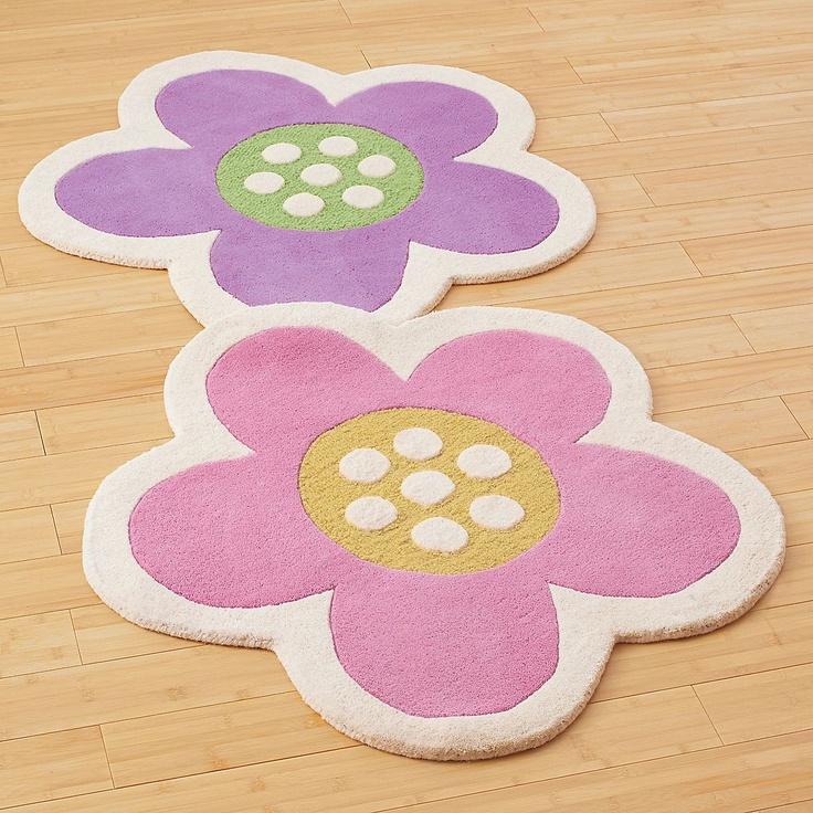 Big Daisy Kids Flower Shaped Area Rug | Company Kids
