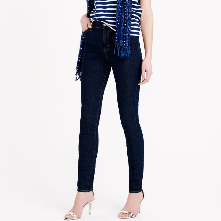 Lookout high-rise jean in Resin wash : Denim | J.Crew