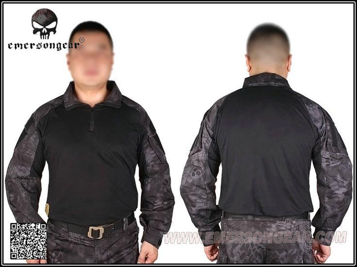 Kryptek тифон Emerson тактический G3 airsoft Tshirt эмерсон военная армия сша BDU EM8586