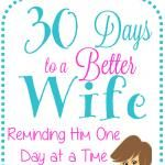 30 Days to a Better Wife