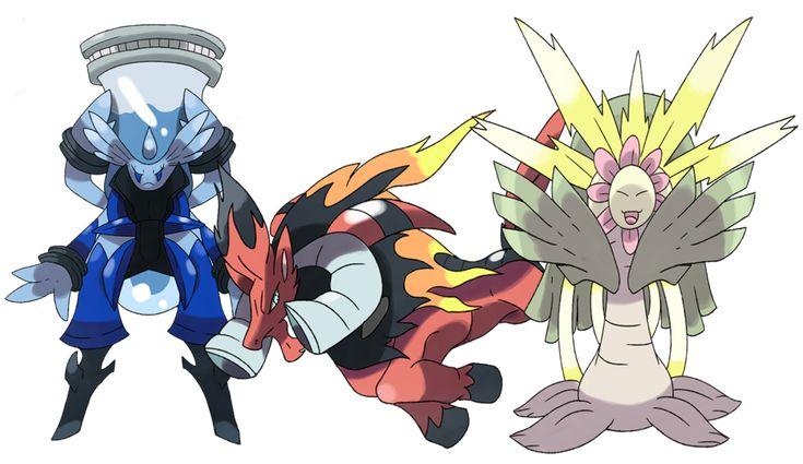 Pokemon Minus and Plus -Starters? by Phatmon66.deviantart.com on @DeviantArt