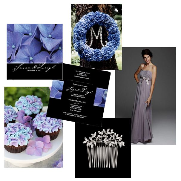 hydrangea wedding invitations and inspiration