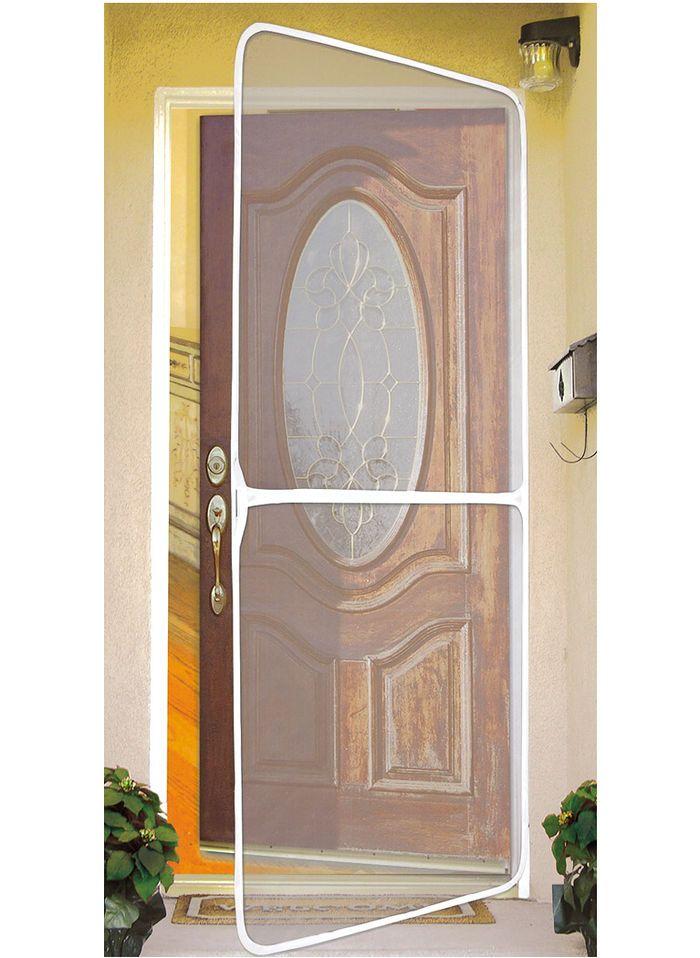 17 migliori idee su instant screen door su pinterest for Exterior wood door with screened window