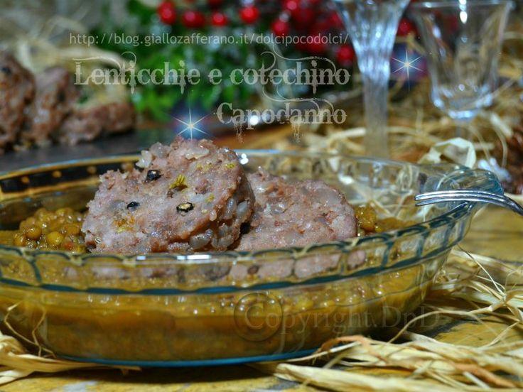 Lenticchie e cotechino Capodanno Ricetta bimby o pentola