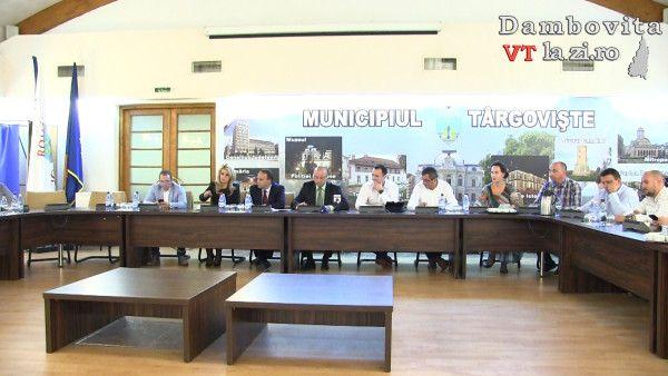 Ședința extraordinară a CLM Târgoviște din 19 octombrie 2017 | Dambovitalazi.ro