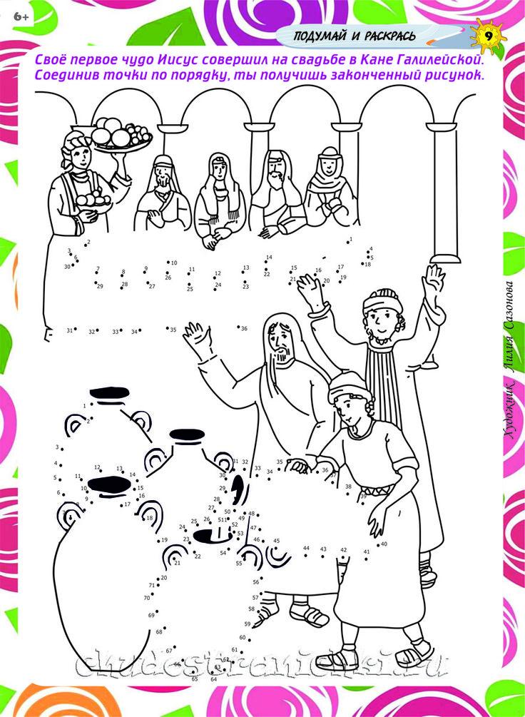 Первое чудо Иисуса
