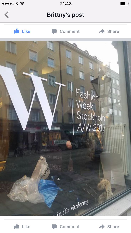 @stockholmfashionweek whoop!