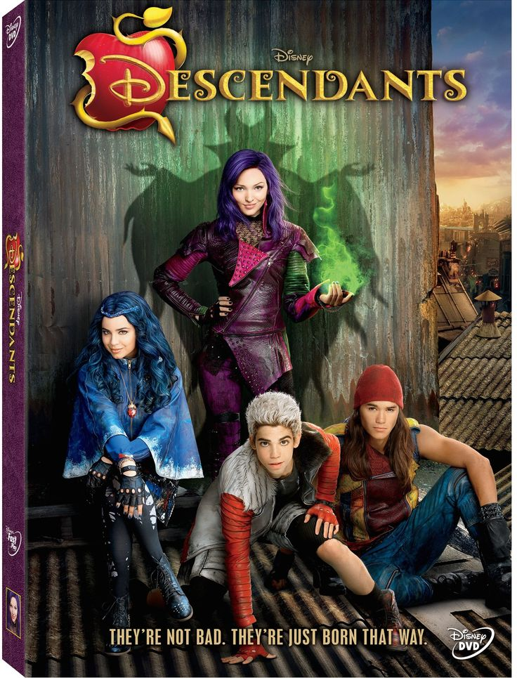 Descendants Coming to DVD July 31st!