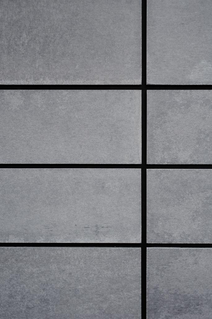 Equitone fibre cement wall cladding || Acre Studio landscape design