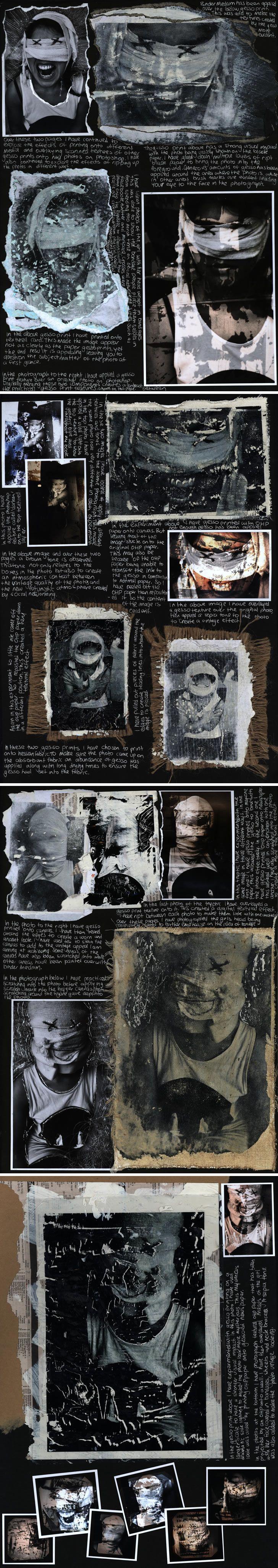 wrapped bandages: creative portraiture ideas