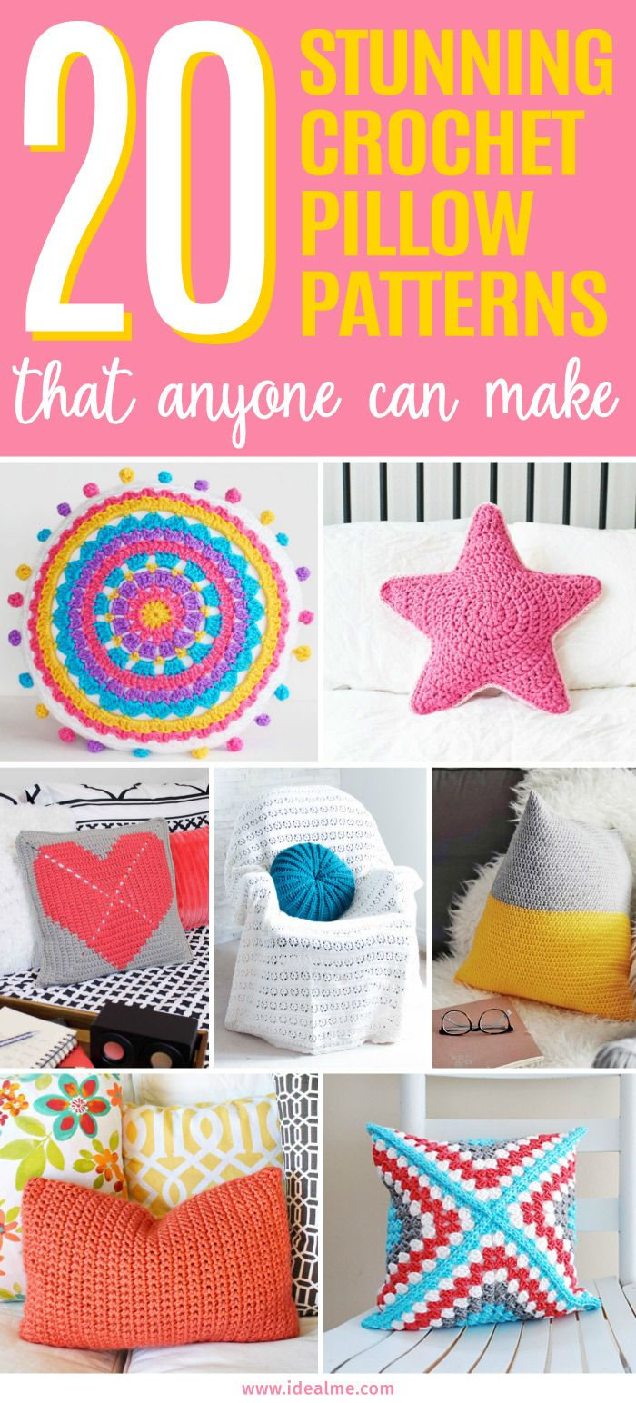 1000 images about crochet thread mini amp micro on pinterest - 20 Crochet Pillow Patterns That Anyone Can Make