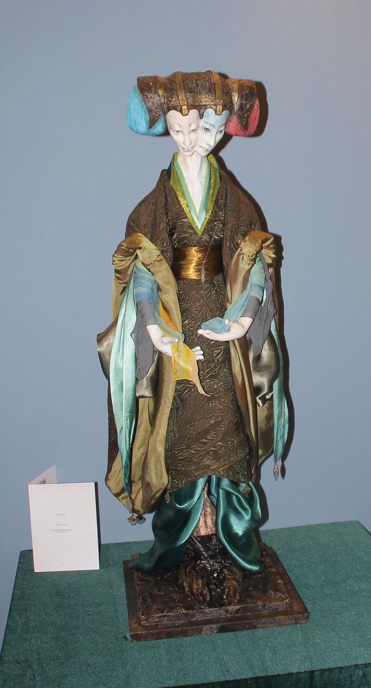 #AekaDolls/ #porcelainDolls by Elena Alekhina/ #CollectionArcanum/ #Art/ #AleisterCrowley #Thoth #Tarot #фарфоровые #куклы по мотивам карт #ТароТота Алистера #Кроули 4000$ http://www.livemaster.ru/aekadoll
