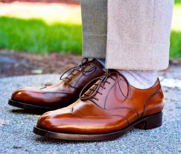 Freshly polished shoes from @stylejournaldaily