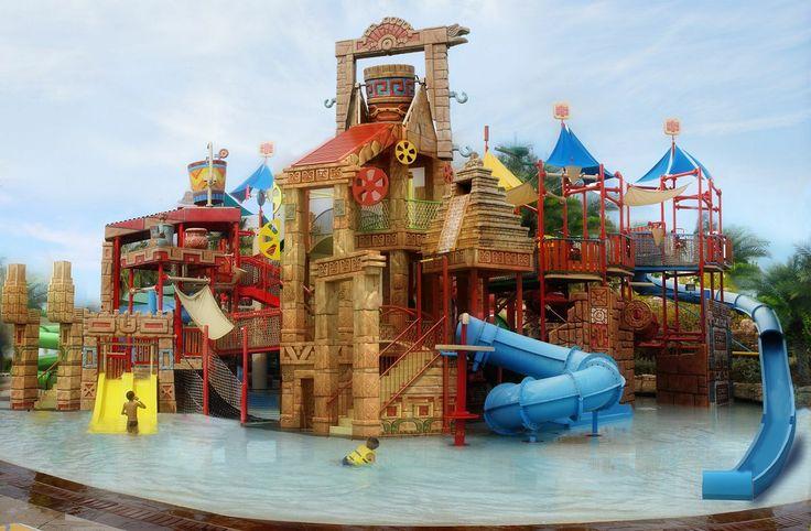 Parcs aquatiques/ glissades d'eau