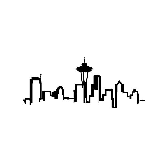 Sea-Rious | SEATTLE SKYLINE DECALS