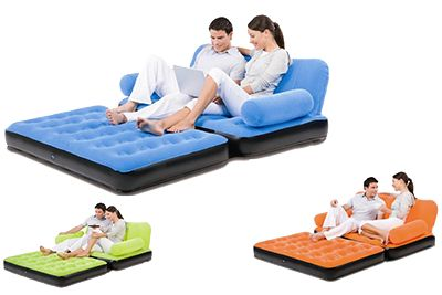 Air Sofa Bed for perfect seating in short space.