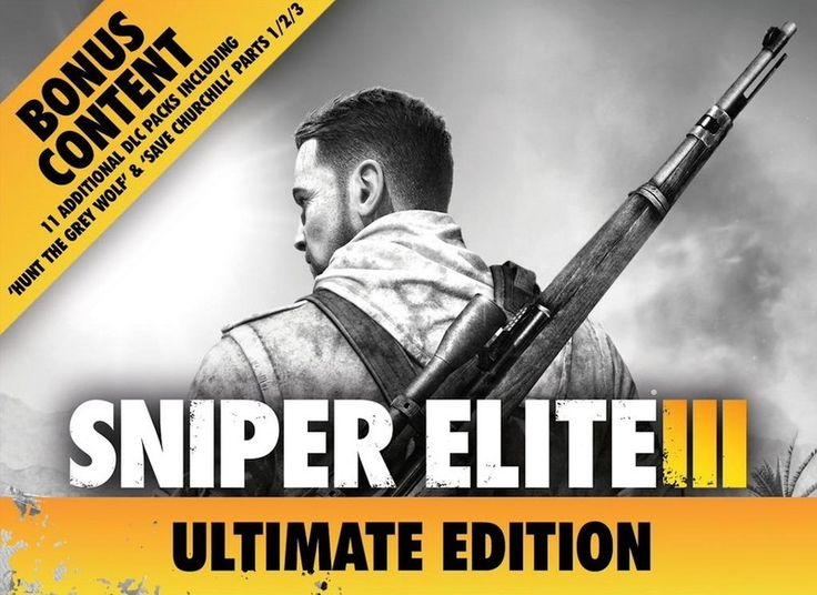 Sniper Elite III Ultimate Edition announced; we're celebrating with a contest this weekend - https://www.aivanet.com/2015/01/sniper-elite-iii-ultimate-edition-announced-were-celebrating-with-a-contest-this-weekend/