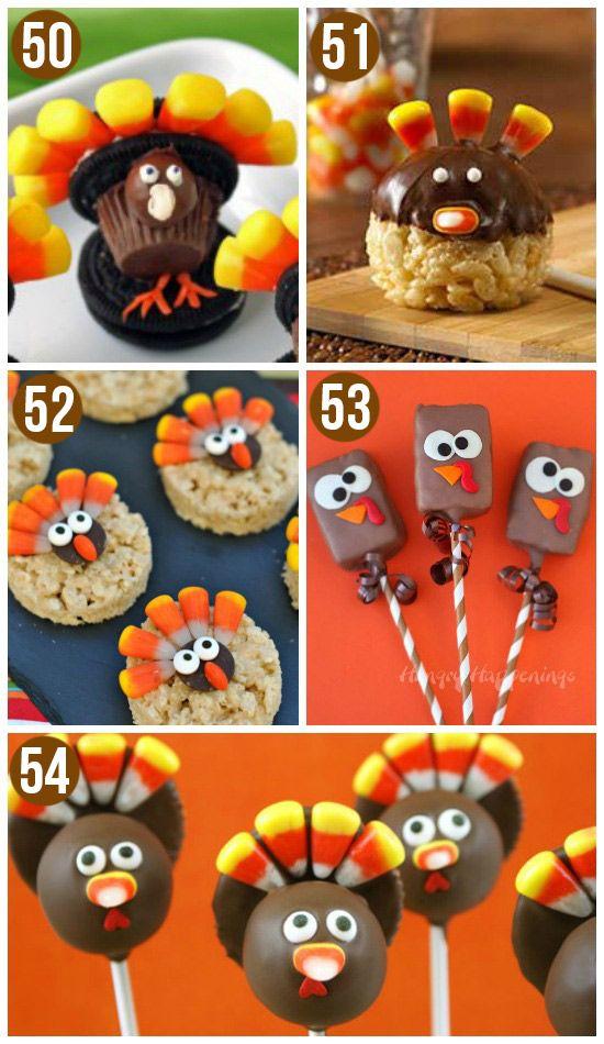 50 Fun Thanksgiving Food Ideas Turkey Treats Fall CraftsHoliday