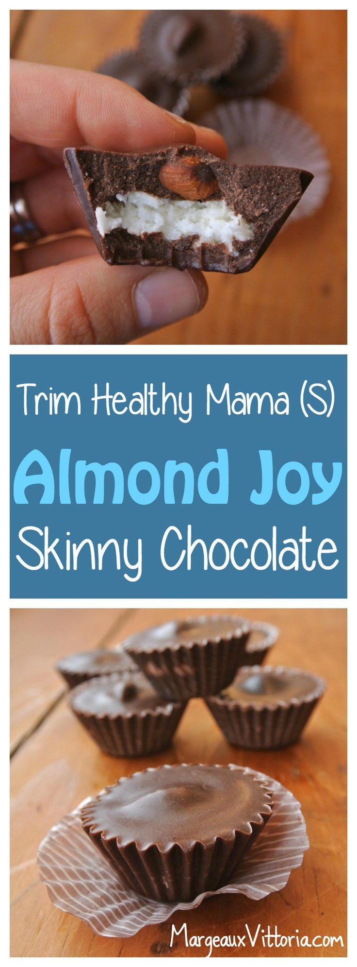 Trim Healthy Mama (S) Almond Joy Skinny Chocolate
