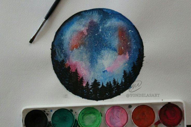 Watercolour art😍❤
