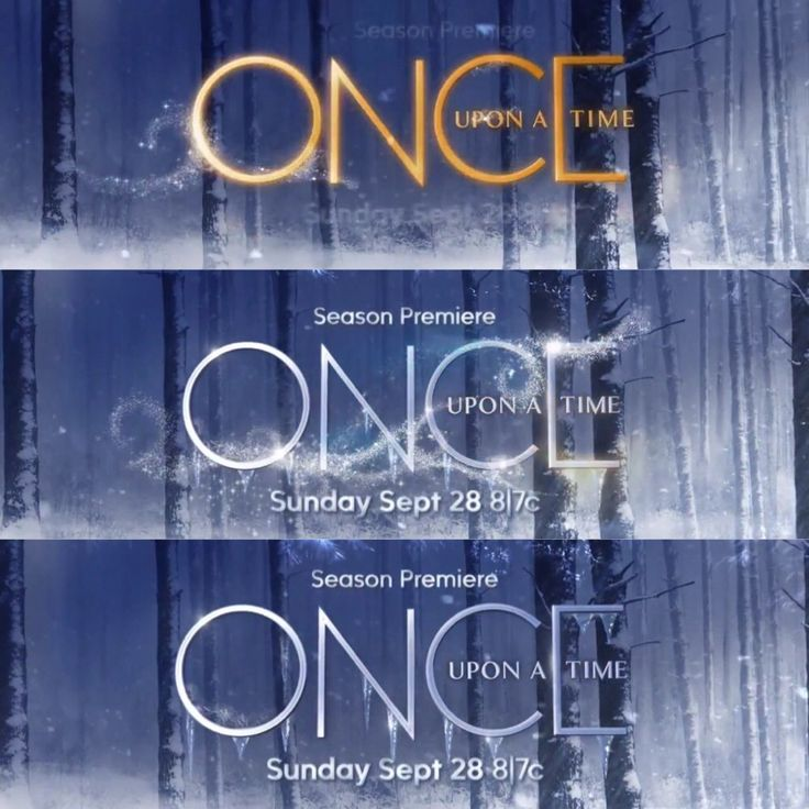 The evolution of the Season 4 Once Upon a Time poster