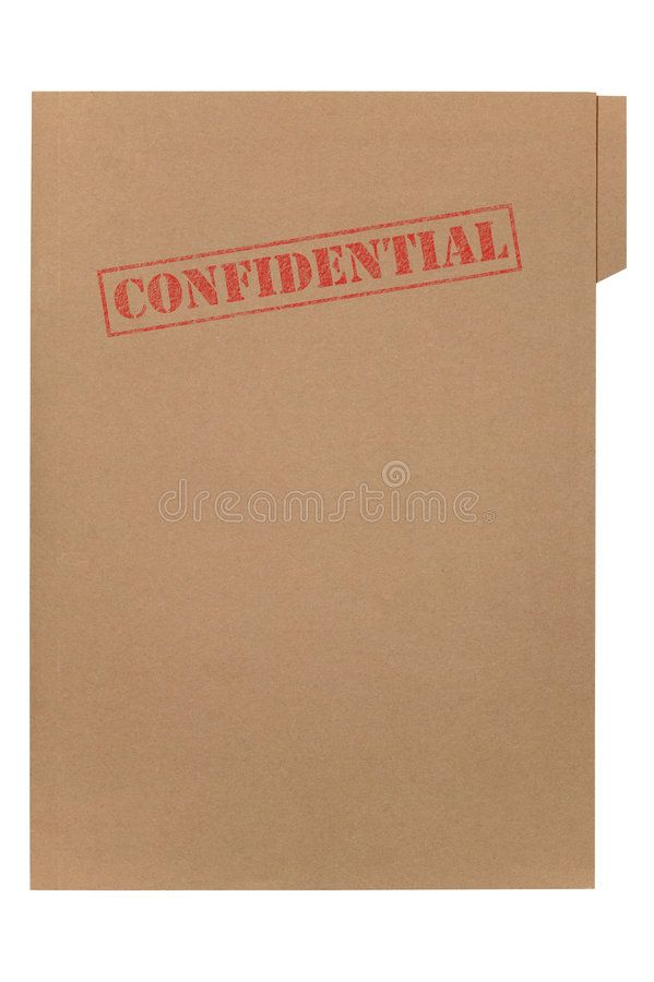 Confidential File A Manila Folder With The Feded Word Confidential On The Front Sponsored Folder Feded Word Manila Folder Detective Aesthetic Image
