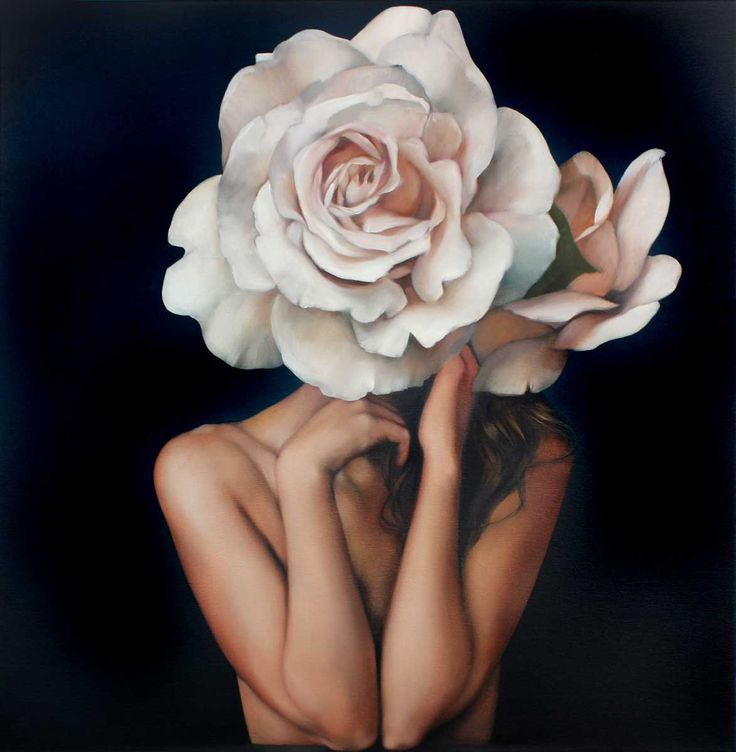 Amy Judd - Pensive Petals - Hicks Gallery