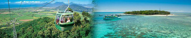 Combo 3 - Reef, Rainforest & Kuranda from $418  Visit http://www.fnqapartments.com/tour-combo-3-reef-rainforest-kuranda/area-cairns/  #cairnstourpackages