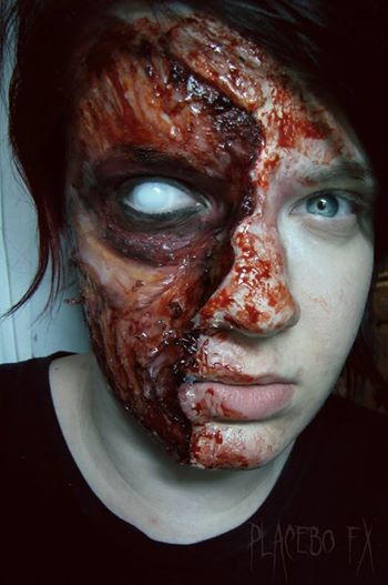 special effects makeup 3rd degree silicone and skin illustrator - Halloween Effects Makeup