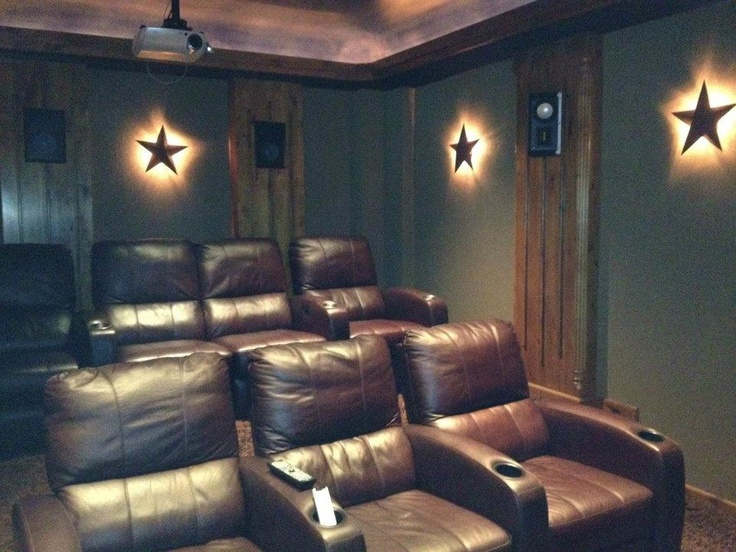 Custom Home Theater With Stadium Seating Leather Seats And Audio System Completed By DeStefano Remodeling