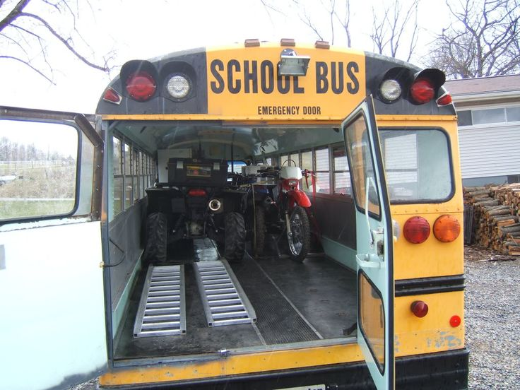 toy hauler bus | Still less than a used trailer.