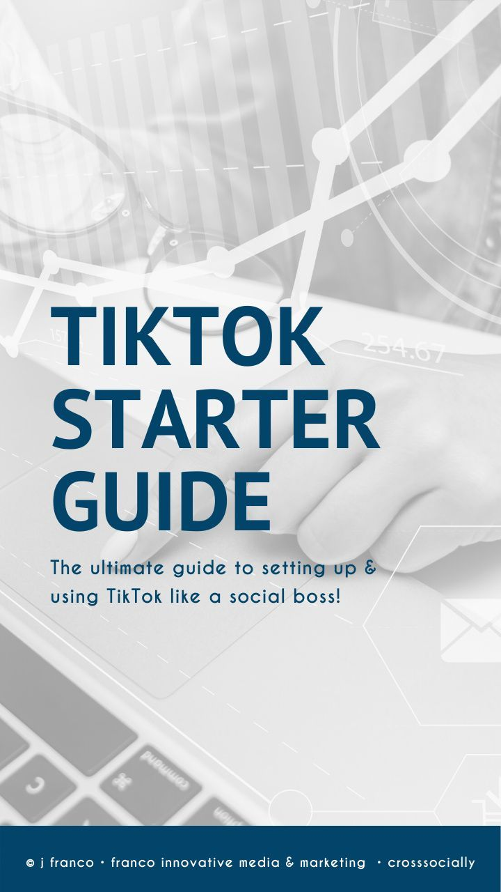 The Ultimate Tiktok Starter Guide How To Use Hashtags Business Basics Social Media Infographic