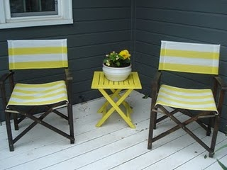DIY director chair makeover: Diy'S Furniture, Director Chairs, Chairs Makeovers Lots, Diy'S Projects, Chair Makeover, Backyard Entertainment, Diy'S Director, Cozy Spots Aka, Chairs Makeover Lots