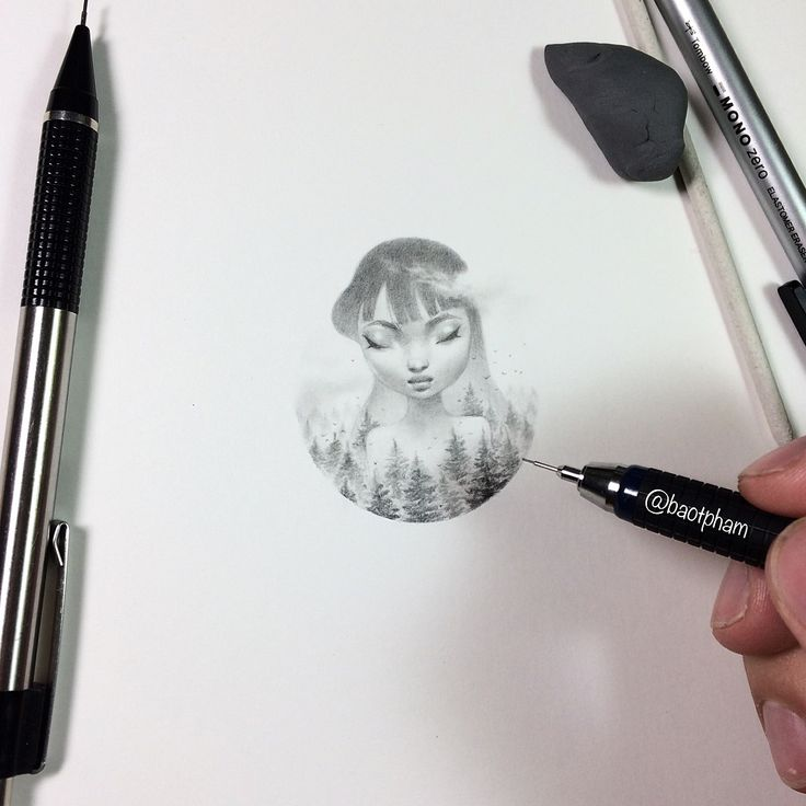 So instead of Inktober, I'm working on my own #Tinytober . Here's the first entry, a mini giantess. We'll see how long I last this month😬. - I'm using an Alvin draft-tec .3mm ✏️ - #drawing #dreamgirl #allabouface #minidreamer #pencildrawing...