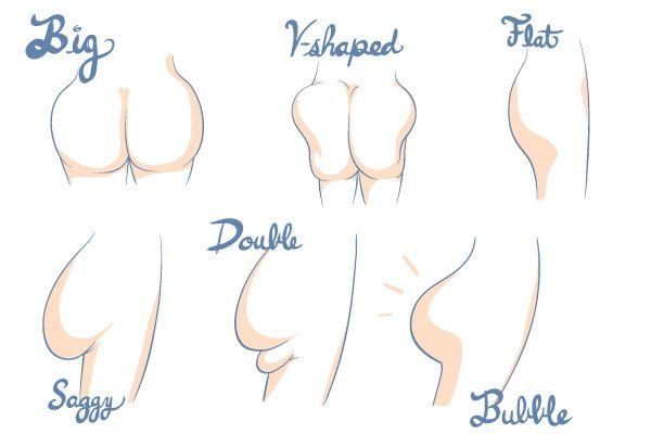 Types Of Butt 22