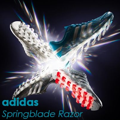 With 16 blades on each sole and a sock-like upper to 'lock in' feet, the adidas Springblade Razor is now available.