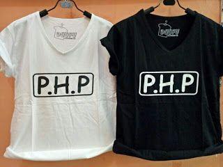 ssfashionkaos: Kaos Wanita PHP Tee Allsize | ssfashionkaos