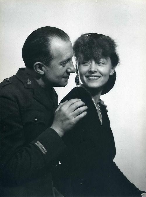 Paul Eluard and Nusch Eluard by Man Ray 1939