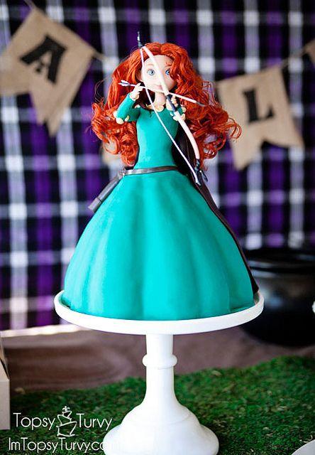 merida-cake-tutorial-finished by imtopsyturvy.com, via Flickr