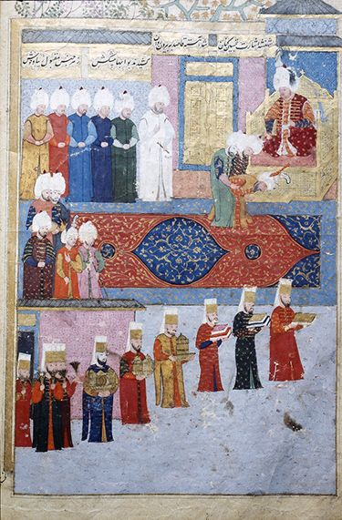 Introduction to the court carpets of the Ottoman, Safavid, and Mughal empires (article)   Khan Academy