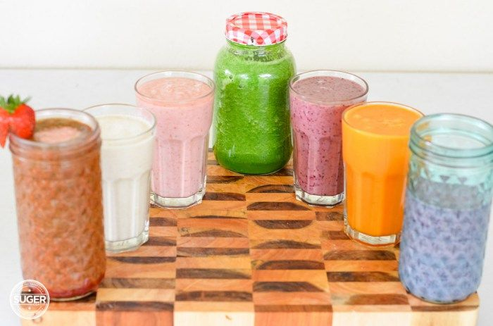 The Juice + Smoothie Rainbow | Suger Coat It
