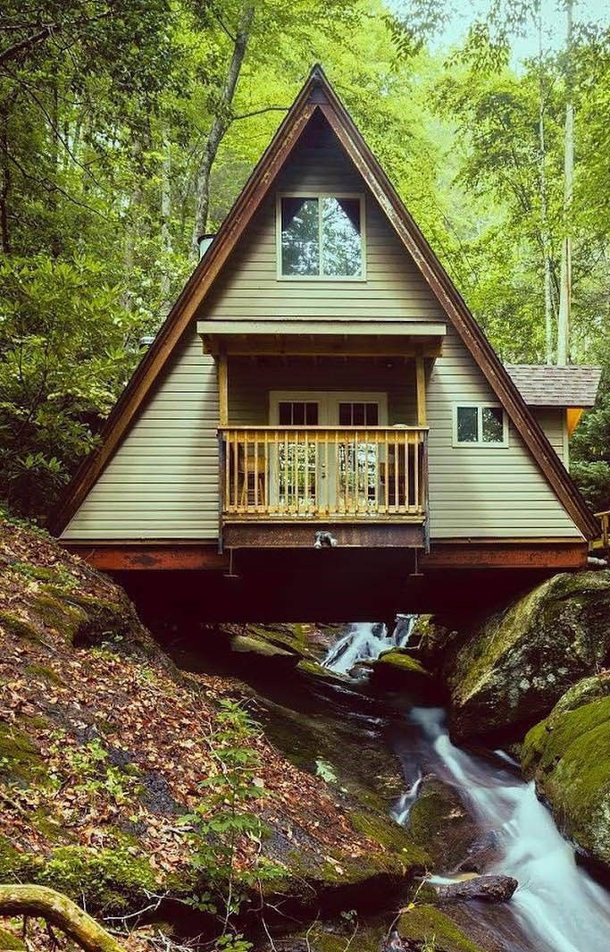 Pin By Buckeyebeth Noneyafb On Cabin Life A Frame House Tiny House Cabin Tiny House Design